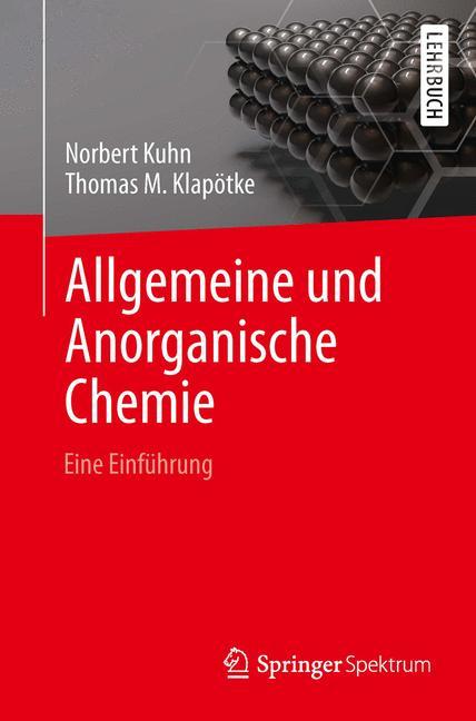 Cover of 'Allgemeine und Anorganische Chemie'