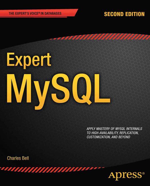 Cover of 'Expert MySQL'