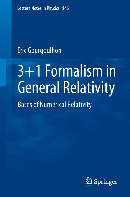 Cover of '3+1 Formalism in General Relativity'