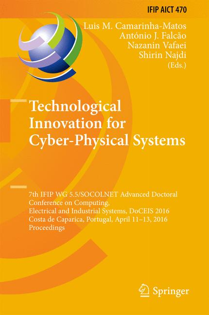 Cover of 'Technological Innovation for Cyber-Physical Systems'