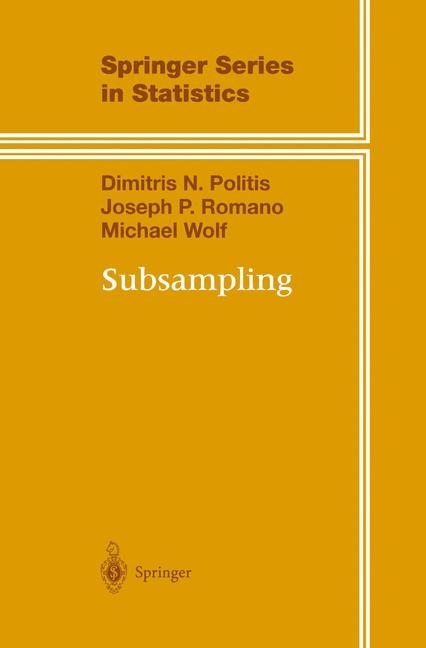Cover of 'Subsampling'