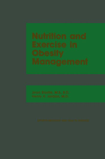 Cover of 'Nutrition and Exercise in Obesity Management'