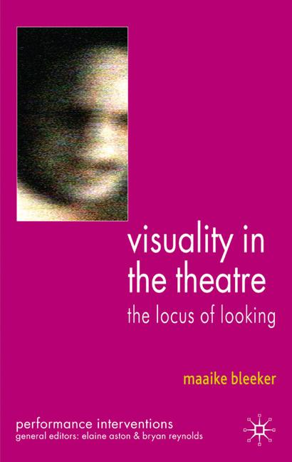 Cover of 'Visuality in the Theatre'