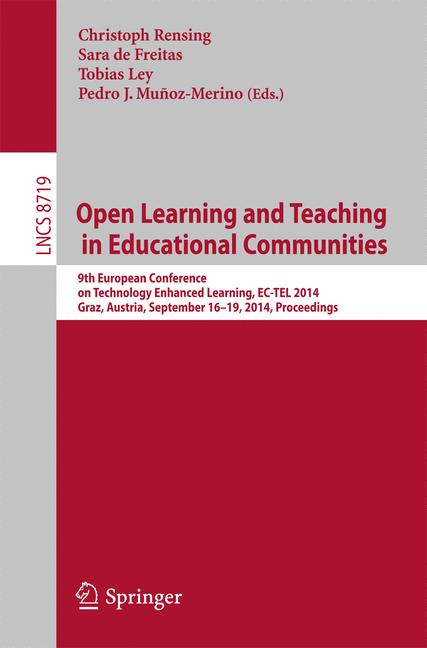 Cover of 'Open Learning and Teaching in Educational Communities'