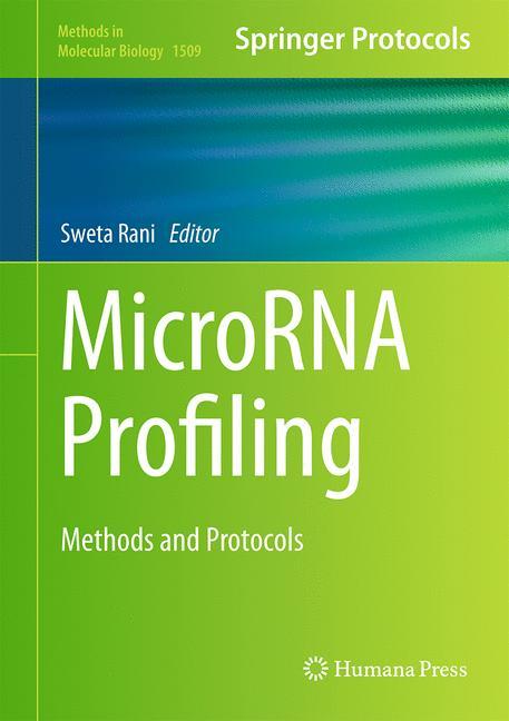 Cover of 'MicroRNA Profiling'