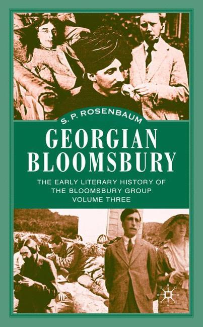 Cover of 'Georgian Bloomsbury'