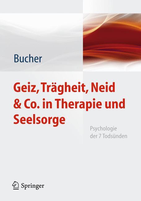 Cover of 'Geiz, Trägheit, Neid & Co. in Therapie und Seelsorge'