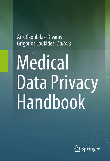 Cover of 'Medical Data Privacy Handbook'