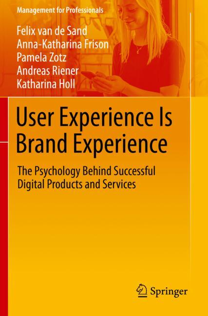Cover of 'User Experience Is Brand Experience'