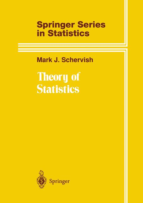 Cover of 'Theory of Statistics'