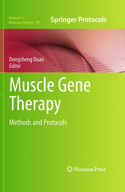 Cover of 'Muscle Gene Therapy'