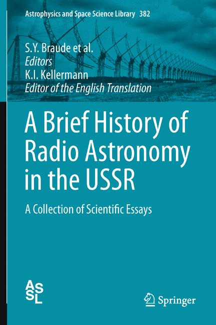 Cover of 'A Brief History of Radio Astronomy in the USSR'
