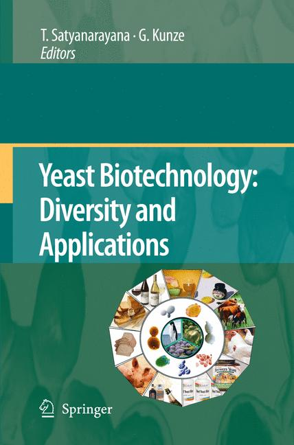 Cover of 'Yeast Biotechnology: Diversity and Applications'