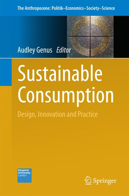 Cover of 'Sustainable Consumption'