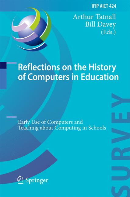 Cover of 'Reflections on the History of Computers in Education'