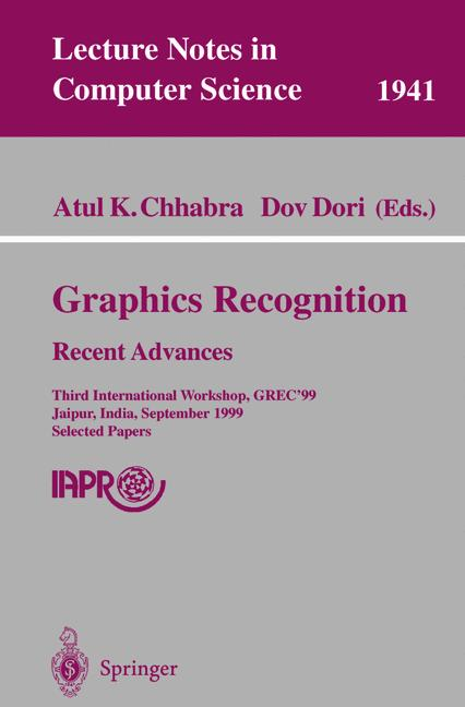 Cover of 'Graphics Recognition Recent Advances'