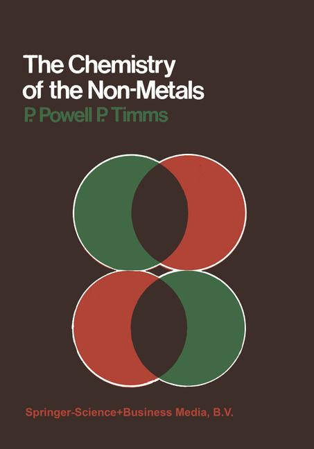 Cover of 'The Chemistry of the Non-Metals'