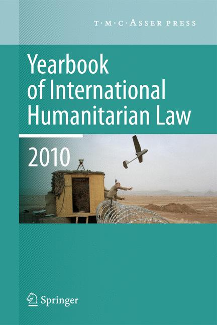 Cover of 'Yearbook of International Humanitarian Law - 2010'