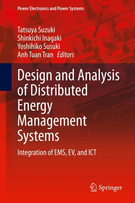 Cover of 'Design and Analysis of Distributed Energy Management Systems'