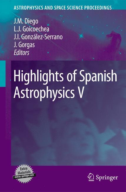 Cover of 'Highlights of Spanish Astrophysics V'