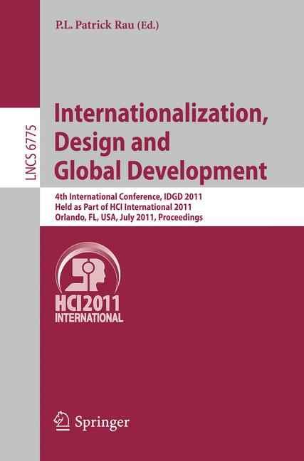 Cover of 'Internationalization, Design and Global Development'