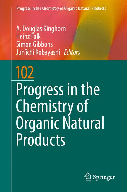 Cover of 'Progress in the Chemistry of Organic Natural Products 102'