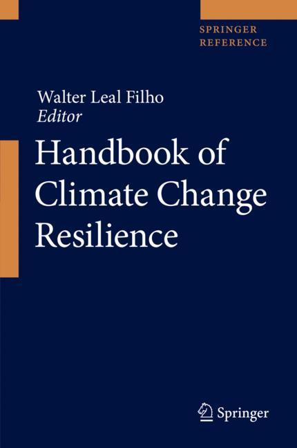 Cover of 'Handbook of Climate Change Resilience'