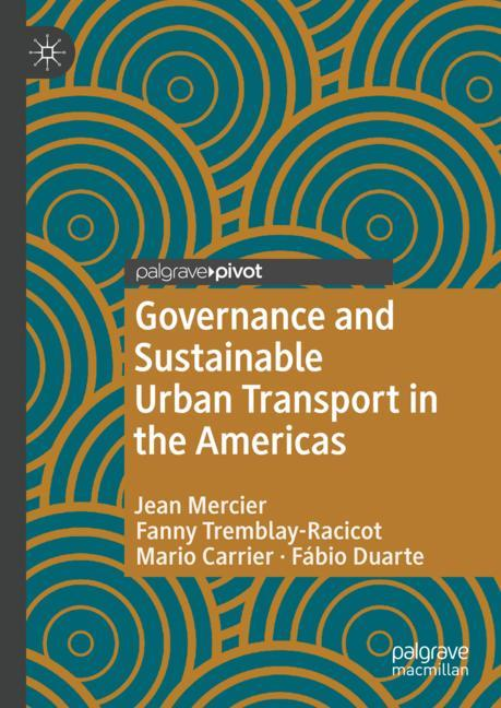 Cover of 'Governance and Sustainable Urban Transport in the Americas'