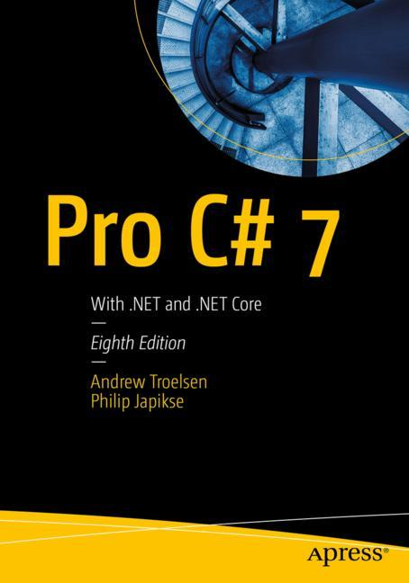 Cover of 'Pro C# 7'