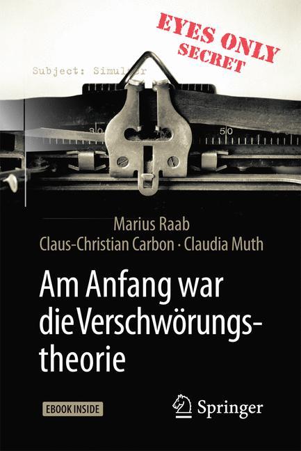 Cover of 'Am Anfang war die Verschwörungstheorie'