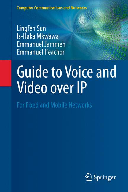 Cover of 'Guide to Voice and Video over IP'