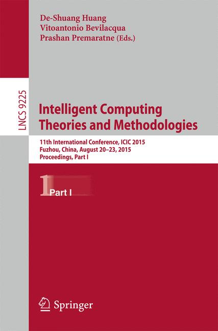 Cover of 'Intelligent Computing Theories and Methodologies'