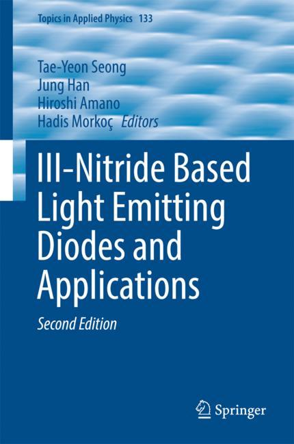 Cover of 'III-Nitride Based Light Emitting Diodes and Applications'