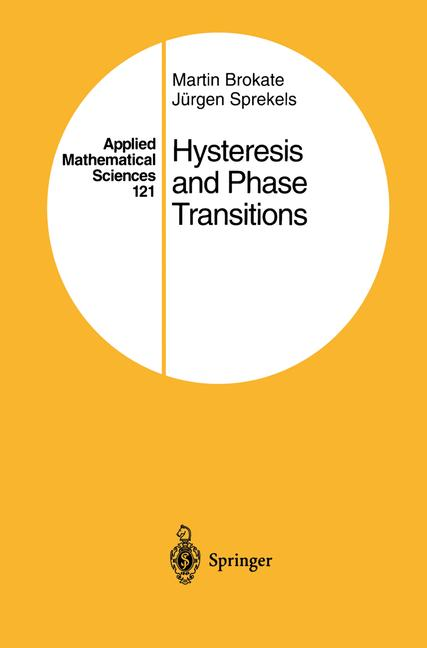 Cover of 'Hysteresis and Phase Transitions'