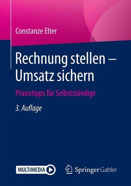 Cover of 'Rechnung stellen - Umsatz sichern'