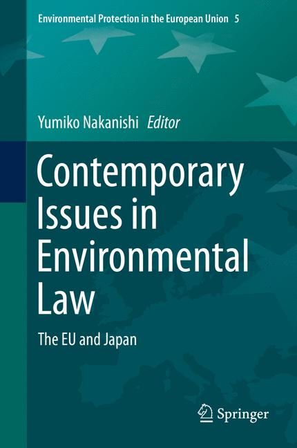 Cover of 'Contemporary Issues in Environmental Law'