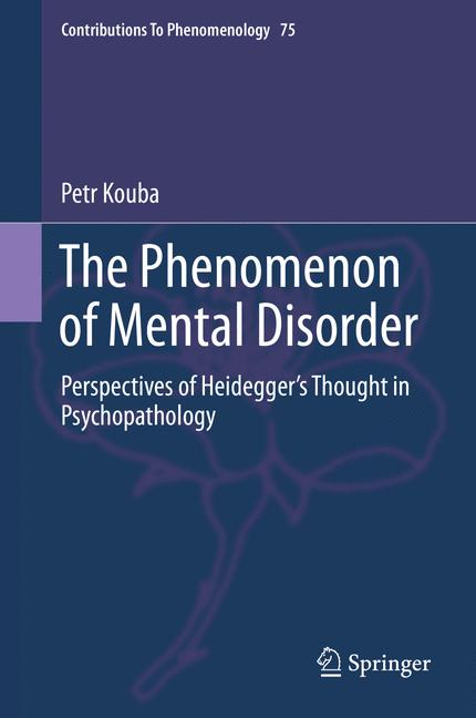 Cover of 'The Phenomenon of Mental Disorder'