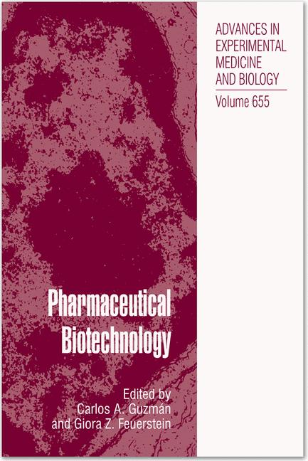 Cover of 'Pharmaceutical Biotechnology'