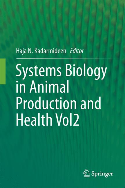 Cover of 'Systems Biology in Animal Production and Health, Vol. 2'
