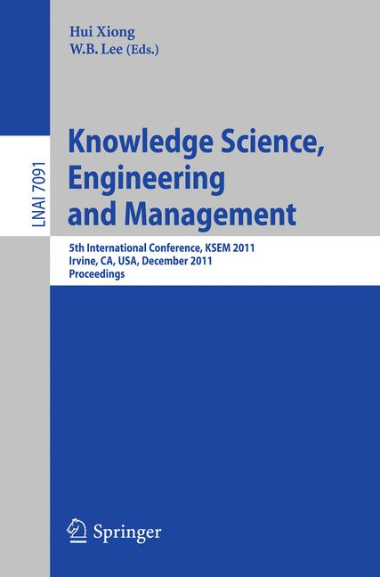 Cover of 'Knowledge Science, Engineering and Management'