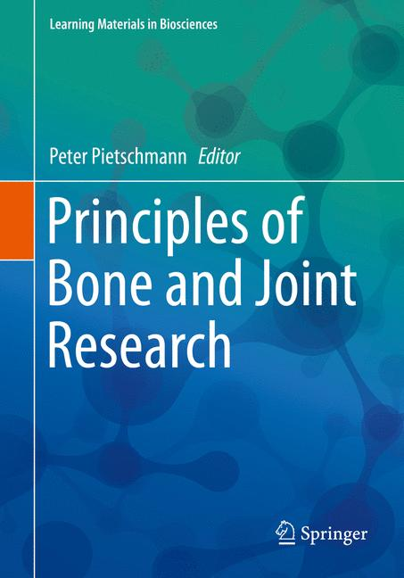 Cover of 'Principles of Bone and Joint Research'