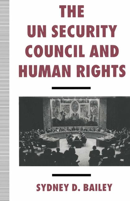 Cover of 'The UN Security Council and human rights'