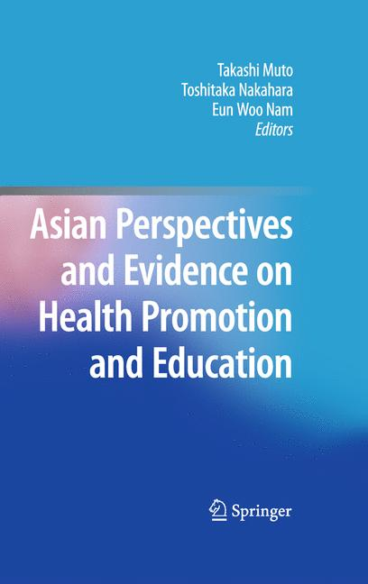 Cover of 'Asian Perspectives and Evidence on Health Promotion and Education'
