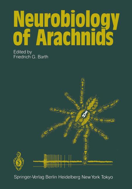 Cover of 'Neurobiology of Arachnids'