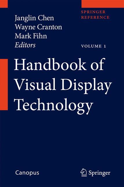 Cover of 'Handbook of Visual Display Technology'