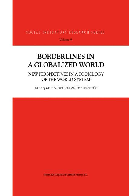 Cover of 'Borderlines in a Globalized World'
