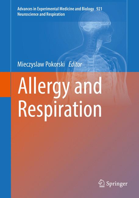 Cover of 'Allergy and Respiration'