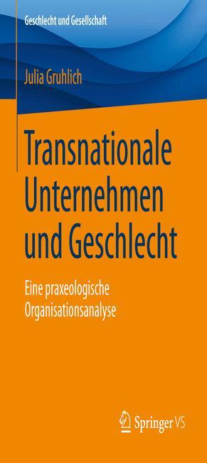 Cover of 'Transnationale Unternehmen und Geschlecht '