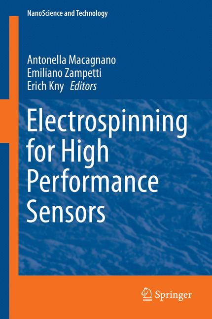 Cover of 'Electrospinning for High Performance Sensors'