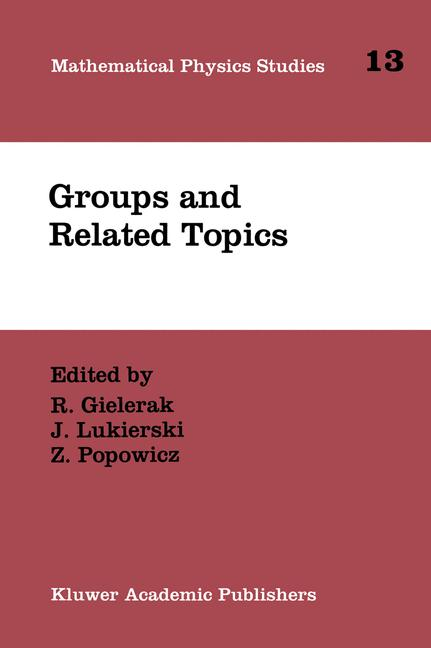 Cover of 'Groups and Related Topics'